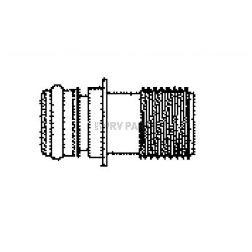 Quad Port x 1//2-14 Male Straight Flojet 20381-000 Electric Pump Fitting