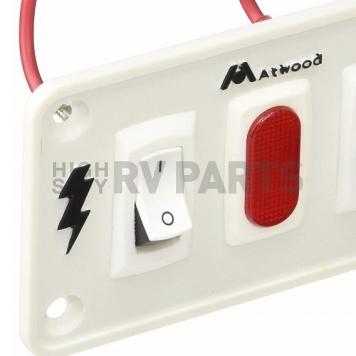 Dual Switch for Airstream Gas/Electric Water Heater 690417-05-1