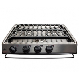 Atwood Cooktop Stainless Steel, Piezo Ignition 690631-101