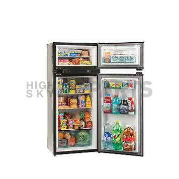 Norcold Refrigerator / Freezer - Two Door Stainless Steel - 5.3 Cubic Feet - N4150AGR-2