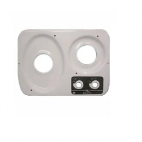 Dometic Stove Top Replacement for Wedgewood DV30 2 Burner Cooktop - White - 57118