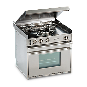 Cooktop with Oven for Airstream Classic 3 burner with Glass Top 690672