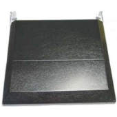 Stove Bi-fold Cover Black for Atwood, Dometic 690396-03