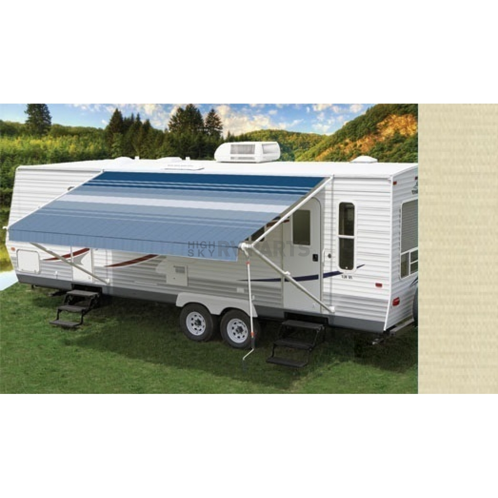 Carefree RV Awning Patio Beige Solid 20 Feet Electric ...