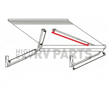 Complete Gas Rafter Assembly - 262101