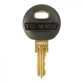 Key Blank # CH751 Water Fill Compartment 381647