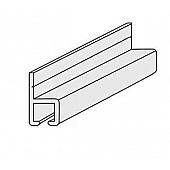 Wall Curtain Track Aluminum T-tab 101225-100