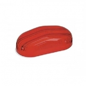 Oval Lens for Airstream Marker Light Red 106975