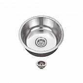 "Round Sink Galley 17"" Stainless Steel 601806"