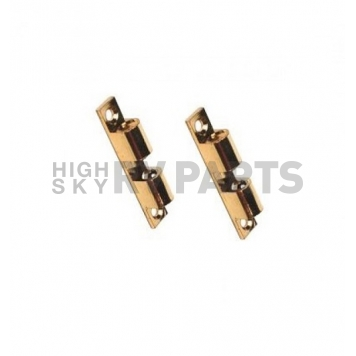 Cabinet Tension Catch 2-ball Brass - Pack of 2 - 381856-4