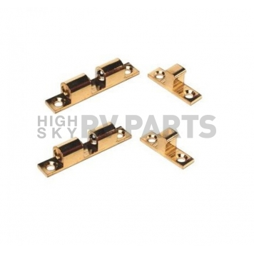 Cabinet Tension Catch 2-ball Brass - Pack of 2 - 381856