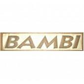 Logo Bambi Raised Black 386092