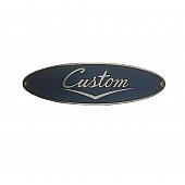 Name Plate Airstream Custom 195522-01