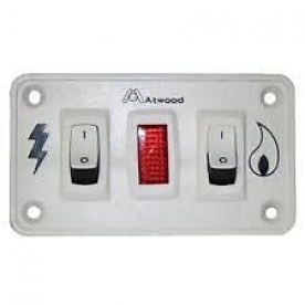 Dual Switch for Airstream Gas/Electric Water Heater 690417-05