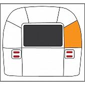 Curb Side Rear Window Level Segment 114889