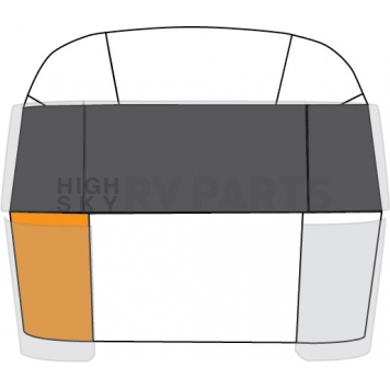 Curbside Bottom Front Segment for Airstream -114895