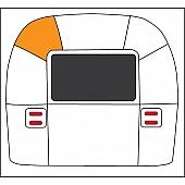 Rear Roadside Upper Middle Segment  114891