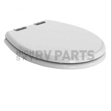 Thetford Tecma ® Silence Plus Toilets Seat - White with Cover - 36504B