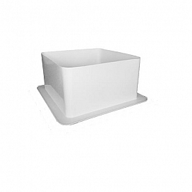 Fan-Tastic Ducted Vent Trim White 382240-102