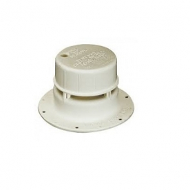 Roof Sewer Vent Pipe Cover White 690264-03