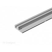 "RV Designer Window Curtain Track 96"" - Ceiling Mount Track - White - A206W"