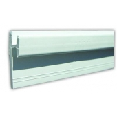 JR Products Window Curtain Track -  Type D Wall Mounted - 80401