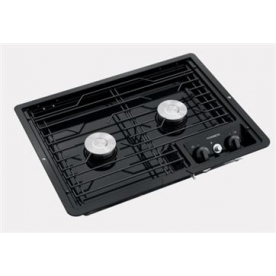 Dometic Stove Cooktop D21-BPW - with Black Top and Piezo ignition - 50210