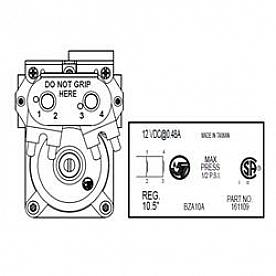 Suburban Mfg Gas Valve Solenoid 521075