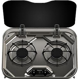 Suburban Mfg Stove Cooktop -Model SDS2SS - Stainless Steel - 3031AST