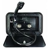 JR Products Exterior Shower Black 5M103-A