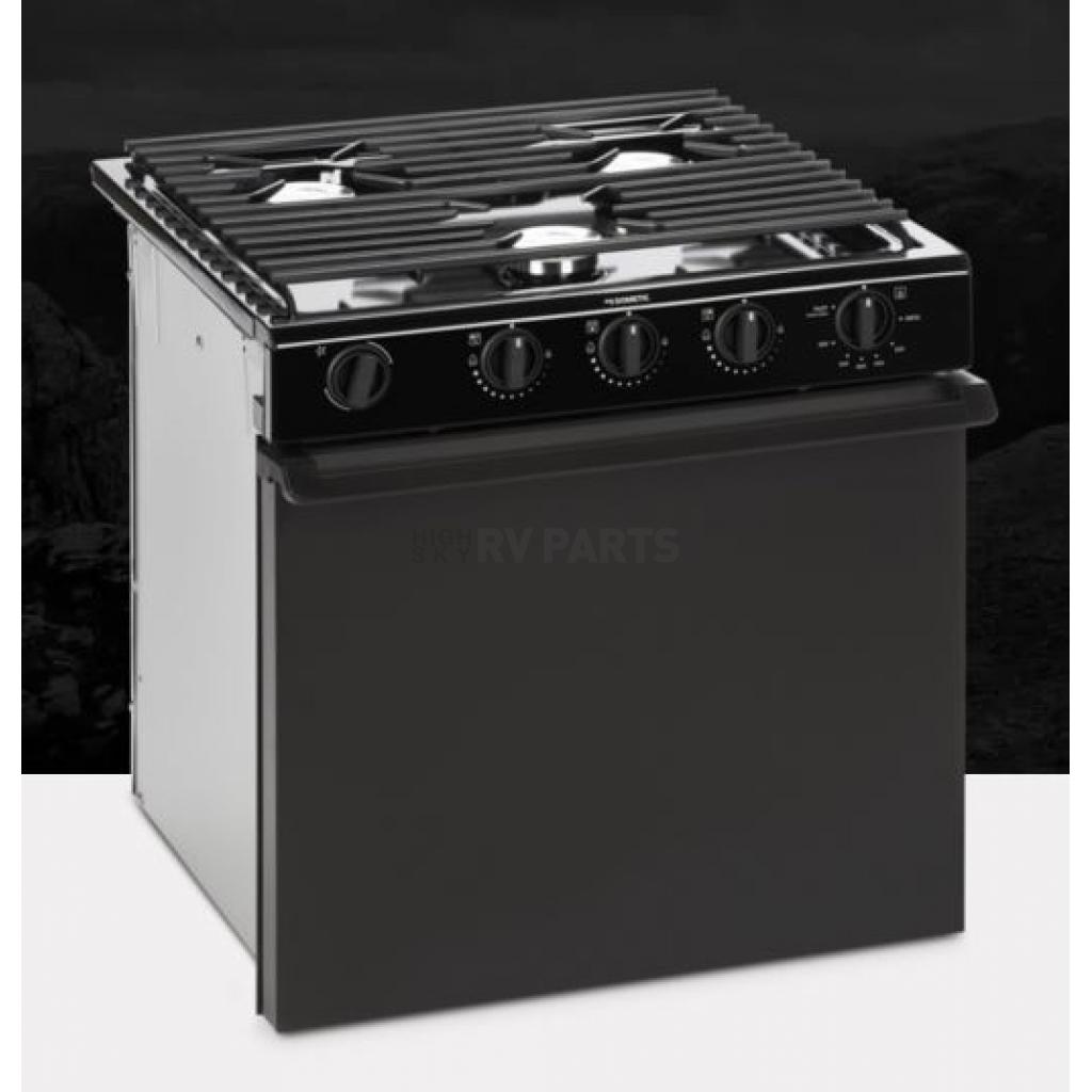 Dometic Stove Black Top Black Steel Door Piezo Ignition 50442 Highskyrvparts Com