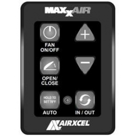 MaxxAir Ventilation Solutions Roof Vent Remote Control 00A03650K