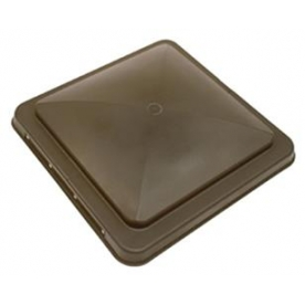 Roof Vent Lid For Hengs/ Elixir Universal and Ventline Vents Amber with Slide Bar 90115-CR