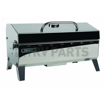 Camco Barbeque Stainless Steel Propane Grill - 57251-1