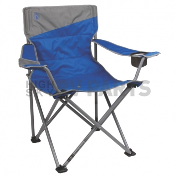 Coleman Company Quad Chair Blue And Gray - 2000026491