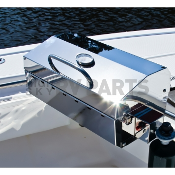 Camco Barbeque Stainless Steel Propane Grill - 58131-4