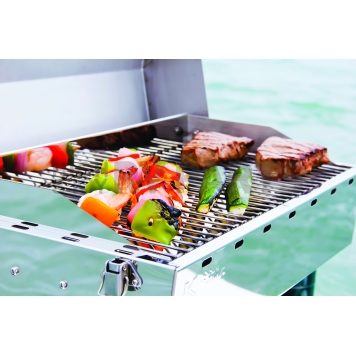 Camco Barbeque Stainless Steel Propane Grill - 58131-3
