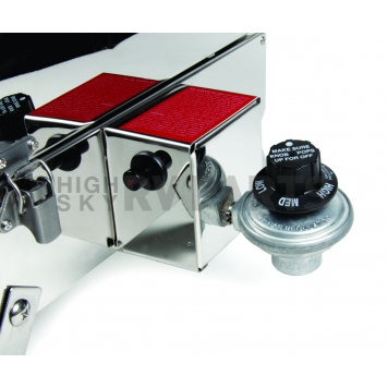 Camco Barbeque Stainless Steel Propane Grill - 58131-12