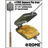 Rome Industry Campfire Cookware Pie Iron - 1705