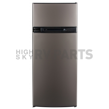 Norcold Refrigerator / Freezer - Two Door Stainless Steel - 5.3 Cubic Feet - N4150AGR
