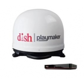 Winegard Playmaker Satellite TV Antenna White with DISH Wally Receiver - PL7000R