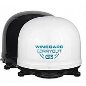 Winegard Carryout G3 Automatic Portable Satellite TV Antenna - White - GM-9000
