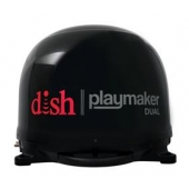 Winegard Playmaker Dual Portable Satellite TV Antenna - Black - PL-8035