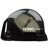 King Quest Portable Satellite TV Antenna - Smoke - VQ4800