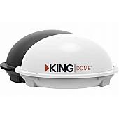 "King Satellite TV Antenna Dome 12"" - 1850-LP-FS-MS"