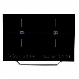 Pinnacle Appliances Induction Cooktop 2 Burner Stove - Black - PIC 200