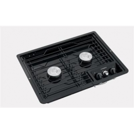 Dometic Stove Cooktop D21-BBW - with Black Top and Battery Lit Ignition ignition -  50211