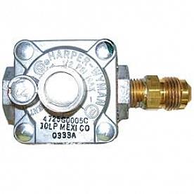 M.C. Enterprises Stove Gas Pressure Regulator 51062MC