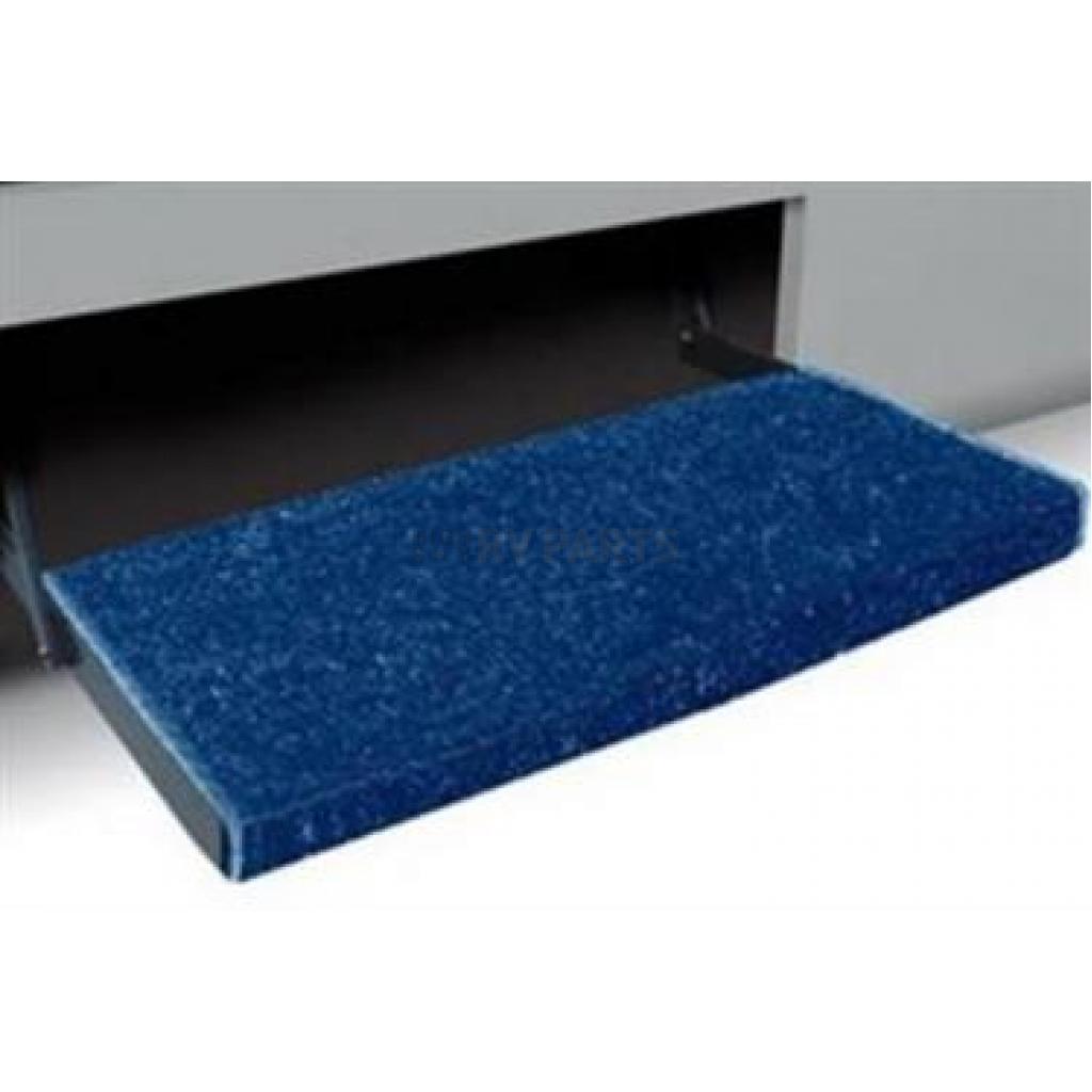 Camco Entry Step Rug 22 Inch X 23 Inch Blue 42943 Highskyrvparts Com