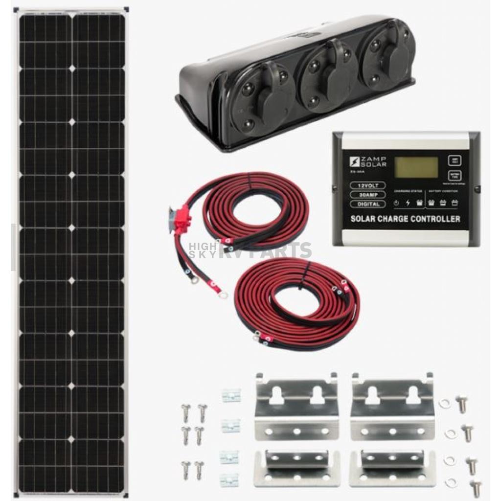 Zamp Solar Solar Panel Kit Kit1007 Highskyrvparts Com